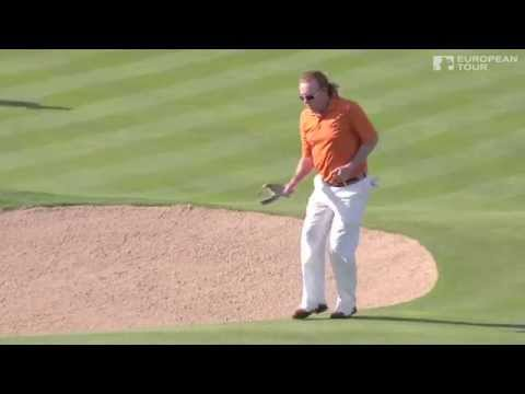 Miguel Angel Jimenez's Hole In One In Abu Dhabi