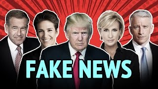 Fake News Remix - Donald Trump vs. The Mainstream Media