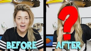 MY HANGOVER MAKEUP ROUTINE // Grace Helbig