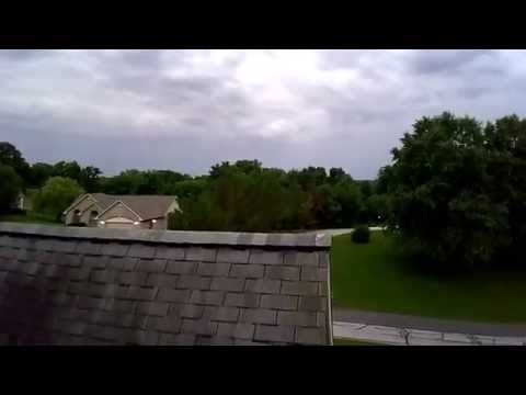 DJI Phantom FC40 First Crash