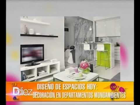Ddiez dise o de espacios hoy decoraci n en for Decoracion de monoambientes de 30m2
