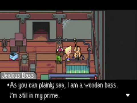Mother 3 Episode 42- Boss: Jealous Bass