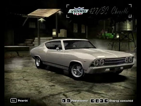 All Fast & Furious cars in NFS Most Wanted part 1