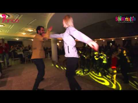 Olesia Sheppard & Kadir Cihan Seven Social Salsa Video - Noche De Rumba by One Dance