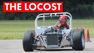 A Homemade Autocross Monster: Part Lotus 7, Part S2000