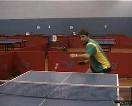 Table Tennis Forehand Topspin Against Block Lesson