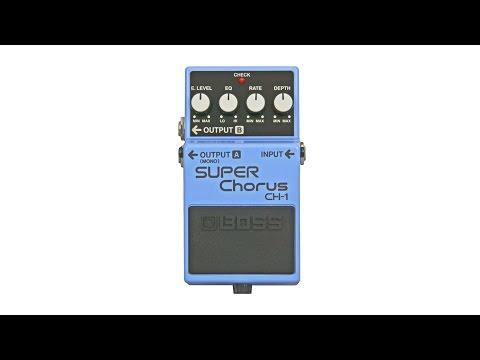 Boss CH-1 Super Chorus Review/Demo