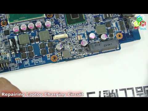 Repairing Laptop Charging Circuit