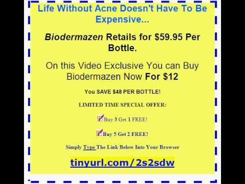 Biodermazen - Adult Cystic Acne Cure... On the Spot!