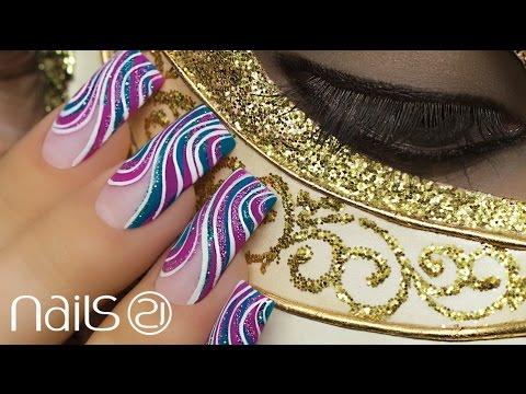Nail Art Carnaval - Nails 21
