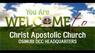 CAC Osinubi D.C.C Headquarters Live Streaming