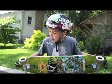 Landyachtz Wolf Shark Review with Graham Smith