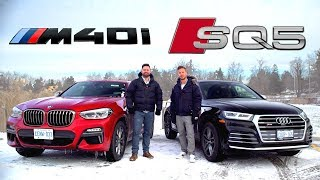 2019 BMW X4 M40i vs Audi SQ5 // Performance SUV Face-Off