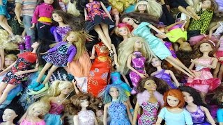 Barbie  Doll  Collection -  Monster High Disney Princess Winx