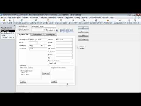 how to clear a vendor credit in quickbooks