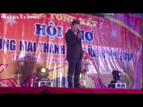 Quang Lê hát live mới nhất tại hội chợ tỉnh Thái Bình ngày 04/01/2015
