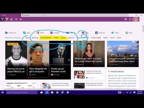 Windows 10 - Official Spartan Web Browser Demo (March 30, 2015)