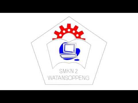 SMKN 2 Watansoppeng Logo Retouch