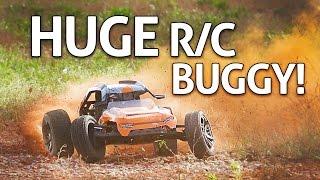 HUGE 54 MPH RC Car!! HBX T6 Review