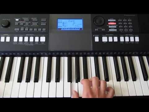 Обучение на синтезаторе Руки Вверх - Алешка (by Toffa Alimoff)