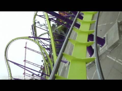 Medusa (HD POV) Six Flags Discovery Kingdom California