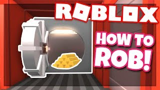 How to ROB THE TRAIN | Roblox Jailbreak