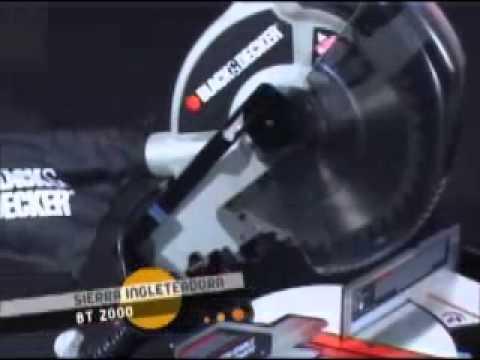 Demo sierra ingleteadora Black & Decker - Ekkon Expertos