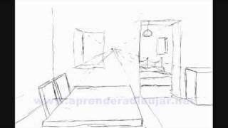 Apprendre a dessiner l interieur d une maison - Comment dessiner un canape ...