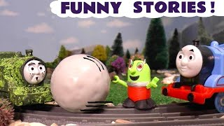 Funny Funlings pranks with Thomas The Tank Engine, Tom Moss and a Rascal Funling