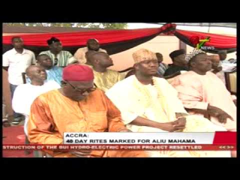 Accra 40 day rites marked for Aliu Mahama