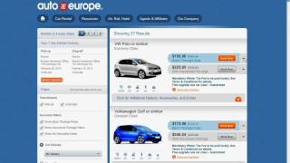 Travel Tips: How to Rent a Car in Europe