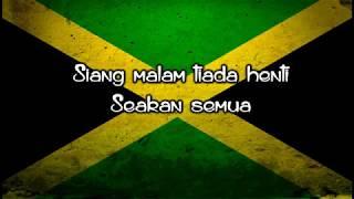 Cinta di Antara Kita  Lirik cover reggae Version Nike ardila