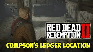 RED DEAD REDEMPTION 2 - Compson's Ledger Location - 1080HD