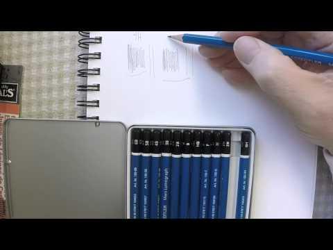 Staedtler Mars Lumograph Drawing Pencils