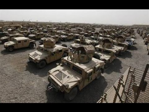 ISIS Stole 2,300 Humvees From The Iraqi Army