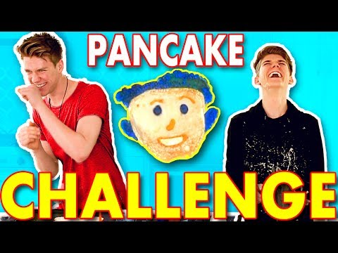 DONALD TRUMP Pancake Challenge SIBLING TAG | Collins Key