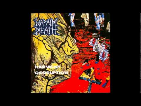 Napalm Death - Harmony Corruption [Full Album]