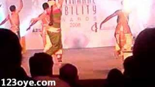 Shobhana Bharatanatyam dance at Ability Awards New Delhi. Shobana Chandrakumar Pillai is an exponent of the Bharatanatyam dance and a leading actress of Sout...