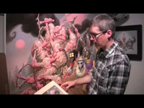 Todd Schorr: American Surreal - Technique