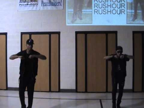 RusHour performing at Ridgewood School