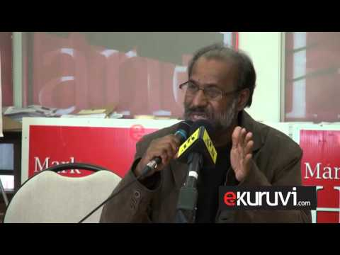 Dr Cheran Rudhramoorthy Speech About UN Report