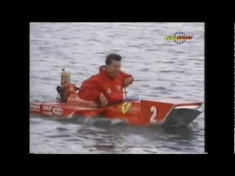 This is a Eurovision report of the pre-qualify session of the 1990 Canadian Grand Prix. On this video it's possible to see the action in the pits, the famous raft race featuring the mechanics...