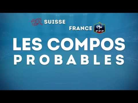 Suisse-France : les compositions probables