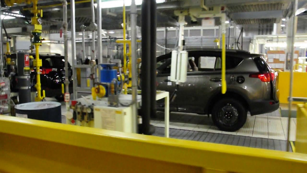 Toyota Plant Tour Youtube