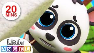 Baby Panda Lost His Mommy!   Baby Panda   Children's Nursery Rhymes and Kid Songs by Little Angel