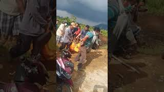 Evakuasi mayat Mr Haloho warga aekhotang,   pangambatan
