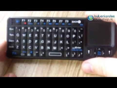 Rii bluetooth keyboard review Buitenlandsewebshop.nl