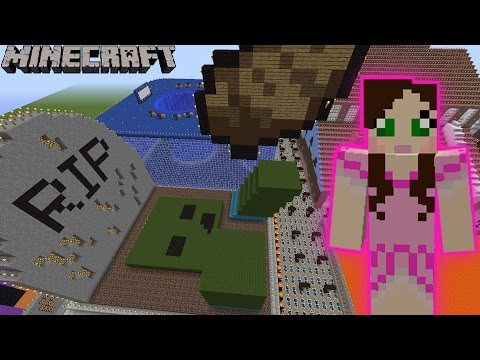 Minecraft slaughter the villagers challenge eps7 49 for Hide n seek living room edition