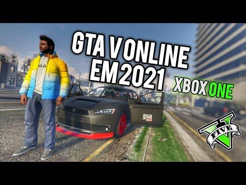 JOGANDO GTA 5 ONLINE NO XBOX ONE EM 2021 NA SESSÃO PÚBLICA