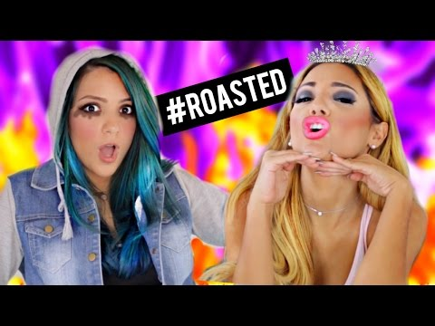 Niki and Gabi ROASTED! Roast Yourself Challenge!